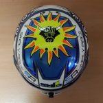 Helmets Custom-Charlie McLeod 2018 04