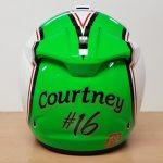 Helmets Custom-Connal Courtney 2018 02