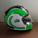 Helmets Custom-Denver Robb