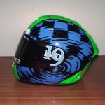 Helmets Custom-Drew Jamison 01