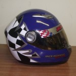 Helmets Custom-Jack Kennedy 2014 01