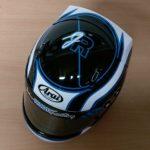 Helmets Custom-Joshua Rudd 2016 01