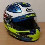 Helmets Custom-Kenzie McNally 2016 01