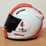 Helmets Custom-Kristen Burgess 2018 01