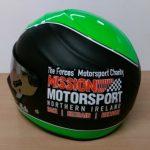 Helmets Custom-Mission Motorsport 2017 (Jacko) 01