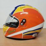 Helmets Custom-Rick Morris 2018 02