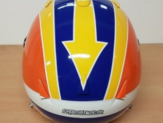 Helmets Custom-Rick Morris 2018 04