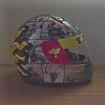 Helmets Custom-Rossi 2012