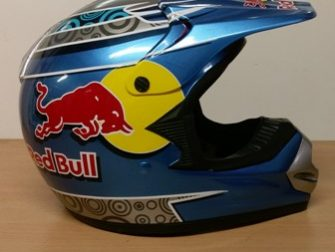 Helmets Off Road-WD Red Bull MX 01