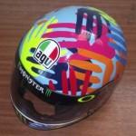 Helmets Replicas-Luke Agnew Rossi 2014 01