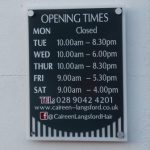 Shops-Caireen Langsford Sign 2017 03