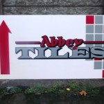 Signs-Abbey Tiles Van Sign