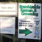 Signs-Brambleside Kennels Sign
