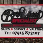 Signs-Brookspeed Workshop Sign 01