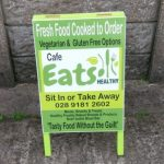 Signs-Eats Cafe A-board