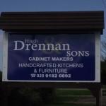 Signs-Hugh Drennan Road Sign