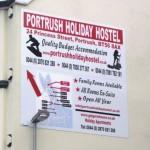 Signs-Portrush Hostel