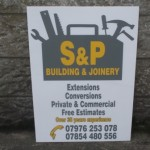 Signs-S&P Joinery Sign
