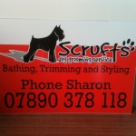 Signs-Scrufts Dog Grooming
