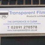 Signs-Transparent Film Sign 02