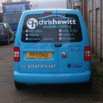 Vehicles Vans-Chris Hewitt Caddy Oct 2017 03