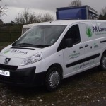 Vehicles Vans-PR Lawns