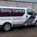 Vehicles Vans-Sony Centre Nov 2017