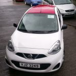 Vehicles Wraps-Hurst Nissan Micra Roof