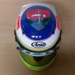 Helmets Custom-Aaron ORourke 2016 04
