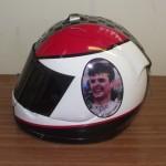 Helmets Custom-Alan McComb Arai 01