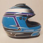 Helmets Custom-Amy Catchpole 2019 01