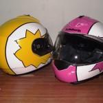 Helmets Custom-Anne-Chris 01
