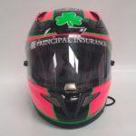 Helmets Custom-Caolan Irwin Pink 2020 02