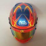 Helmets Custom-Carter Kelly 2019 04