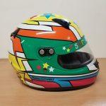 Helmets Custom-Fernandaz Phoenix 2018 01
