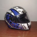 Helmets Custom-Gareth Evans 01