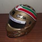 Helmets Custom-Gilbert Yates 01