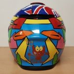 Helmets Custom-Harry Watts 2018 03