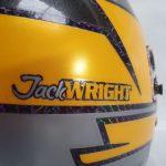 Helmets Custom-Jack Wright 2021 05