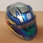 Helmets Custom-Joseph McMahon 2019 03