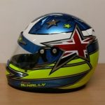 Helmets Custom-Kenzie McNally 2016 03