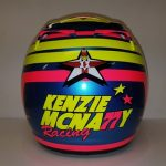 Helmets Custom-Kenzie McNally 2019 03