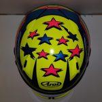 Helmets Custom-Kenzie McNally 2019 04