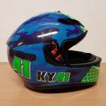 Helmets Custom-Kyal Tinker 2018 01