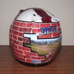 Helmets Custom-Nick Wall
