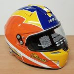 Helmets Custom-Rick Morris 2018 01
