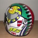 Helmets Custom-Rossi