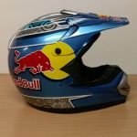 Helmets Off Road-WD Red Bull MX 01