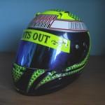 Helmets Replicas-Aaron Lennie 2010