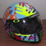 Helmets Replicas-Luke Agnew Rossi 2014 02